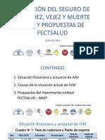 ANEP y Fectsalud presentan propuestas para fortalecer el régimen IVM
