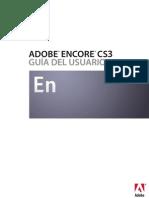 Manual Adobe Encore CS3