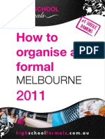 How To Organise a Formal Melbourne