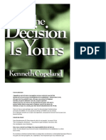 La décision vous appartient