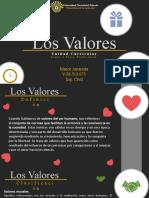 Los Valores - Marco Amarista - LEP 3T1