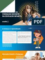 eBook a Importância Da Formação Docente Na Educação Infantil