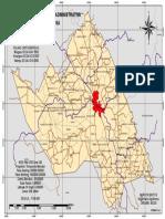 Mapa Territorial de Amargosa/BA