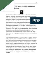Randazzo, López Murphy y los políticos que vuelven del desierto - Modo de lectura