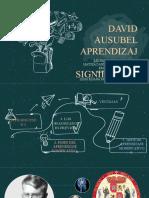 David Ausubel-Aprendizaje Significativo EXPO-2