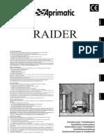 Motore Cancello Aprimatic RAIDER