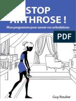 Programme Antiarthose