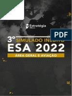 3° SIMULADO ESTRATÉGIA 50 QUESTÕES