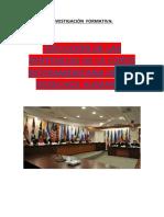 INVESTIGACIÓN  FORMATIVA EJECUCION DE SENTENCIAS CIDH