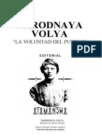 200x. Narodnaya Volya - La voluntad del pueblo Ⓐ ('Instinto Salvaje')