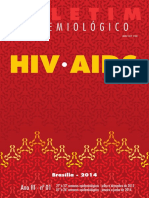Boletim Epidemiologico Hivaids - 2014