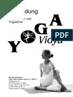 Curriculum YL Ausbildungen Yoga Vidya