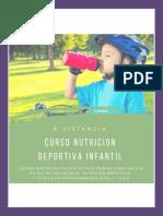 EBOOK CURSO DE NUTRICIÓN Y SUPLEMENTACIÓN DEPORTIVA INFANTIL