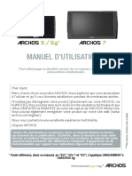 Francais Manuel d Utilisation Archos 5-5g-7 v3