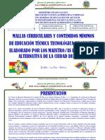 Malla Curricular 2019 Para Impresion
