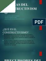 TEORIAS DEL CONSTRUCTIVISMO