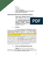 DEMANDA PETICIÓN DE HERENCIA Y DECLARACIÓN DE HEREDERO - CARDENAS EGOAVIL ANGELA MALU