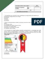 RECUPERAÇÃO DE FÍSICA - 8º ANO ENS. FUNDAMENTAL - WANDERSON CARVALHO - MARIA JOSÉ 2021