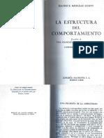 164682937 Merleau Ponty La Estructura Del Comportamiento