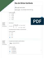 Prova 1 de calculo diferencial e integral