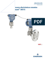 Manual de Consulta Sistema de Sensores Electrónicos Remotos Ers Rosemount 3051s Es Es 5929750