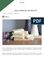 Savon de Marseille maison, la recette facile _ The Blue Dress Girl
