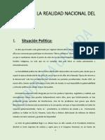Analisis de La Realidad Nacional Del Ecuador Tarea