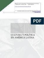 Cultura e Democracia - Marilena Chaui (artigo)