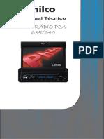 Philco Pca-635,640 Versão+a Sm