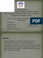 Estrutura Urbana em Moçambique