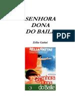 Zelia Gattai - Senhora Dona Do Baile