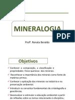 Introdução Mineralogia