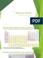organização periódica dos elementos