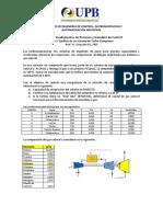 Caso 2 - Evaluacion de un turbocompresor de gas