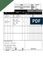 T-F-002 Cronograma de mantenimiento de EQUIPOS y uni. transporte