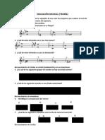 EXAMEN DE EDUCACIÓN MUSICAL