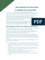 EMBUDO DE CONVERSIÓN