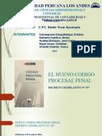El Nuevo Cod. Proc Penal