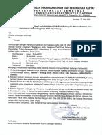 Gel3 - Undangan OPD - Sosialisasi Arah Kebijakan DAK Fisik TA. 2022