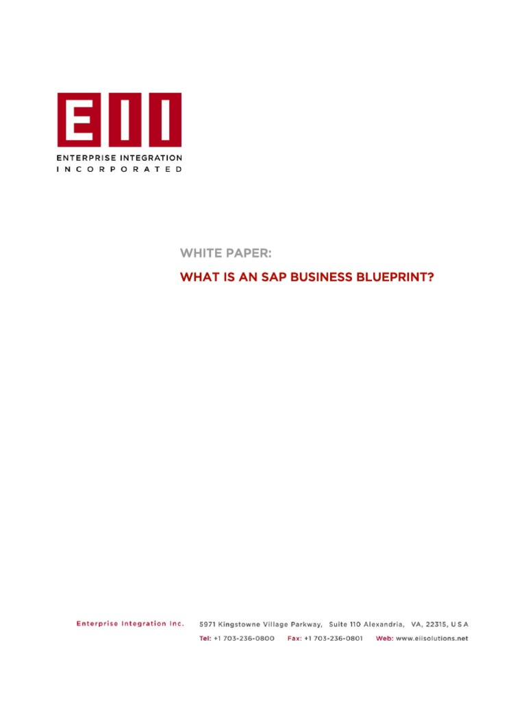 Sap business blueprint business process sap se malvernweather Images