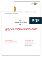 81334146 a STUDY on EQUITY ANALYSIS of Automobile Industry in India