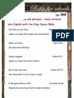 10-11 Yrs Biblical Sayings