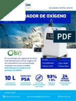 TELVICOM- CONCENTRADOR DE OXIGENO OLV-10