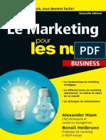 Le Marketing Pour Les Nuls Poche Business by Benoît HEIBRUNN, Alexander HIAM [HEIBRUNN, Benoît] (Z-lib.org)