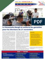 Venezuela Informează| Buletin Săptămânal 02.07.2021 - versiune limba franceza