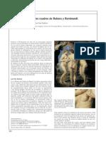 Cancer de mama en los cuadros de Rubens y Rembrandt