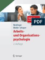 2011 Book Arbeits-UndOrganisationspsycho