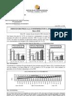 Indices des prix à la consommation à Antananarivo - Mars 2010 (INSTAT/2010)