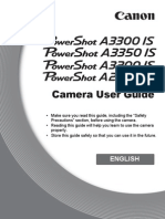 Poweshot A3300 IS