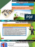Sesión a.- plan de gestión de residuos